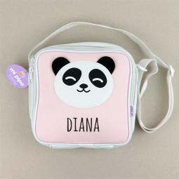 Bolsa Isotérmica Panda Rosa...