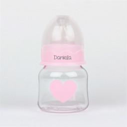Biberón Corazón Rosa 150 ml...