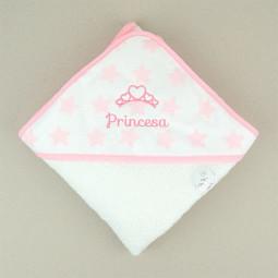 Capa de baño Estrellas rosa...